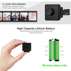 Camera Video Spy Portabila cu Rezolutie FULL HD, 128GB, Alimentare Permanenta [3]