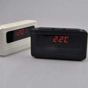 Ceas de Birou cu Cameră  Spion, HD  5 Mp , Senzor de Mișcare , 32GB , Model JSCM0830