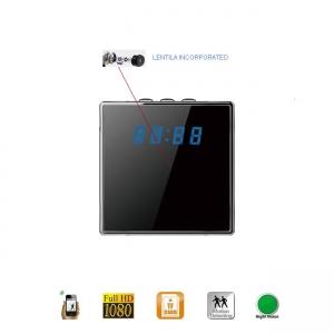 Camera Video Spy IP Wi-Fi Camuflata in Ceas de Birou Cubic, 1920x1080p, Senzor de Miscare1
