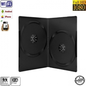 Camera Video Spy Wi-Fi P2P In Carcasa DVD cu Senzor de Miscare, 32GB, Autonomie 18 Ore1