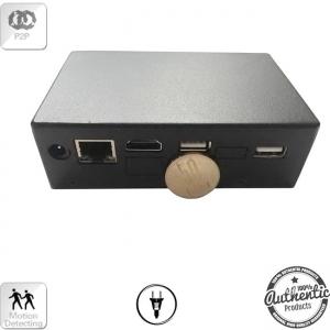 Microcamera IP Spion Profesionala cu Microfon | 6 Luni Inregistrari | Senzor de miscare | Aplicatie Dedicata | Inregistrare Ciclica | Camera X-tend pentru o mai buna camuflare | BlackBoxMaxIP881