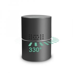 Boxă Bluetooth cu Cameră Video Spy, WI-FI, IP, P2P+DVR, Senzor de Mișcare, Lentilă Rotativă 330 de Grade3