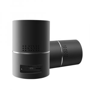 Boxă Bluetooth cu Cameră Video Spy, WI-FI, IP, P2P+DVR, Senzor de Mișcare, Lentilă Rotativă 330 de Grade6