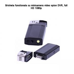 Cameră Video DVR Integrată în Brichetă Funcțională, 1920x1080p, 32GB - Model BCADV09882