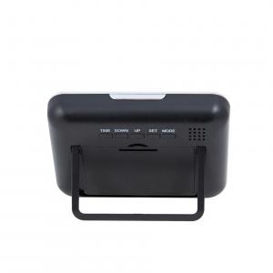 Cameră Spion HD de 5MP Ascunsă în Ceas de Birou | Senzor de Mișcare | Reportofon | Suportă Card MicroSD de 32GB | Telecomandă | JSCM0894