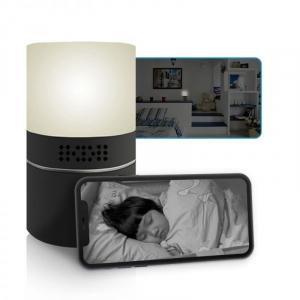 Cameră Video Spy Ascunsă în Lampă de Veghe, Rezoluție Full HD, Capacitate Stocare 128GB, Activare la Mișcare1