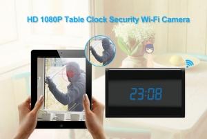 Camera Video DVR IP WiFi cu Senzor de Miscare Integrata in Ceas de Birou Spion | 1080P | 32GB | CSIP28884