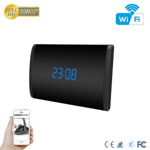 Camera Video DVR IP WiFi cu Senzor de Miscare Integrata in Ceas de Birou Spion | 1080P | 32GB | CSIP28886