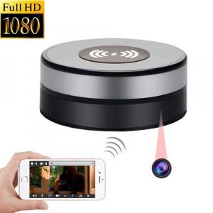 Încărcător Wireless cu Cameră Video Spy, Wi-Fi, Ip, P2P, Rezoluție 1920x1080p, Senzor de Mișcare, Lentilă 160 de Grade, 128GB1