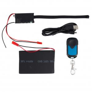 Cameră Video Spion Modul Integrabil | 8mm -12 ore - 32GB | Senzor de Mișcare și Telecomandă | MCS8MM32GB3
