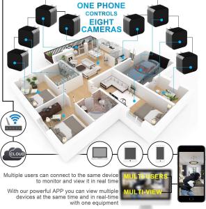 Camera Video Spy cu Rezolutie VGA Aascunsa in Incarcator USB, WIFI, Ip, p2p, DVR, 128 GB, Alimentare Permanenta6
