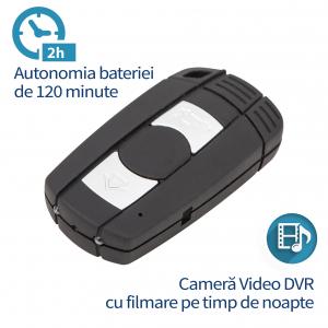 Camera Video Spy cu Nightvision si Rezolutie 1920x1080p in Cheie Auto BMW1