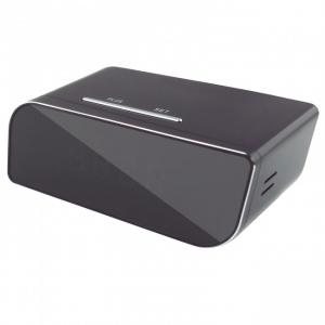 Camera spion WI-FI IP HD Ascunsa in Ceas Desteptor | Infrarosu Nedetectabil | Aplicatie dedicata | Suporta card micro SD de maxim 32 GB | Senzor de Miscare | CCSWIIP1122