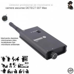 Detector Profesional de Microfoane si Camere Spion Detect 007 MAX 8 GHz, Bonus Husa Antiascultare2
