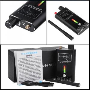 Detector Ultraprofesional de Camere Video Spion, Microfoane si Localizatoare GPS, 8.7 GHz, MAXPROTECT08, Husa Antiascultare Bonus7