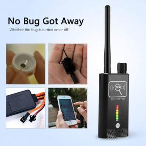 Detector Ultraprofesional de Camere Video Spion, Microfoane si Localizatoare GPS, 8.7 GHz, MAXPROTECT08, Husa Antiascultare Bonus4