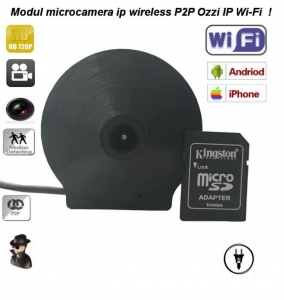 Camera Video de Spionaj DVR + IP Wi-Fi Profesionala P2P Usor de Ascuns OZIIPWIFI ( Recomandat la Integrari )0
