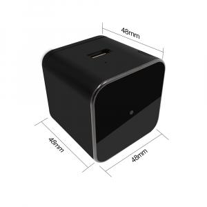 Camera Video Spy Ascunsa in Incarcator, Rezolutie 1280x720p, Wi-Fi Ip cu Nightvision, Senzor de Miscare, 128GB2