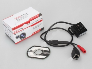 Camera Video Spion Profesionala, Ip cu Functie de Night Vision, 720p , 2 Mp - XSIPCAMHDNW1