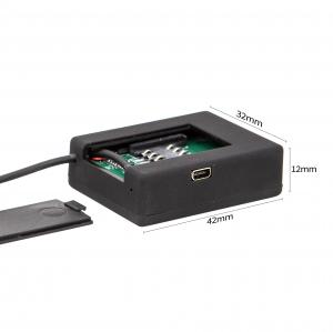 Microfon GSM cu Ascultare în Timp Real, Dimensiuni Minime - X-tend 2mm, Sunet UltraClear2