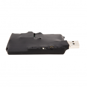 Microfon Spion Hibrid - GSM + Reportofon Spy -  Activare Vocală Dublă - 73 de Ore Stocare - Model ACCOMB733