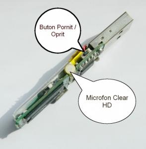 Modul Reportofon Profesional pentru Spionaj  - Stocare 280  de Ore - Model MICROMR2800