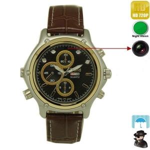 Cameră Video Spy Integrată în Ceas de Mână cu Night Vision, Rezoluție Video 1280x720P0