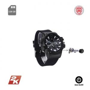 Ceas de Mâna Cameră Spy 2K | Reportofon+Aparat Foto | 128GB | Senzor de Mișcare și Sunet Clear+1
