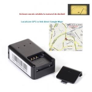 Microfon Gsm Spy cu Activare Vocală Setabila + AGPS, Dimensiuni Minime - Model MN11G+  20182