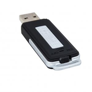 Reportofon Spion Camuflat în Stick de Memorie de 4GB | 70 ore de Înregistrare | 16 Ore Autonomie Baterie |  RMVR4GB3