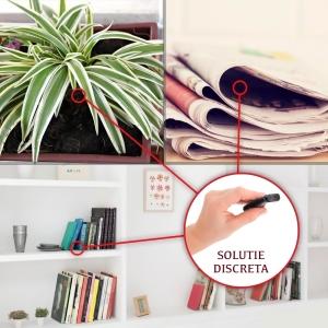 Cameră Video Spion cu Reportofon în Stick USB de Memorie | Autonomie Baterie - 5 Ore în Modul Video | Funcție Reportofon - 26 de Ore | Suportă Micro-SD Card de Maxim 32GB4