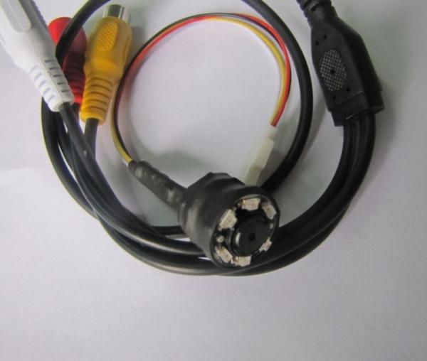 Microcamera CCTV Spion cu Night vision , 940Nm , Audio, 520 TVL