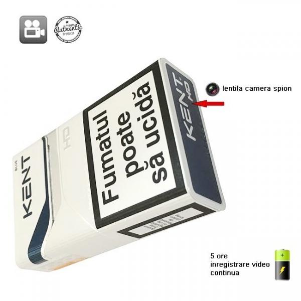 Mini camera spion ascunsa in pachet de tigari - 5 ore autonomie - CSPT30116GB