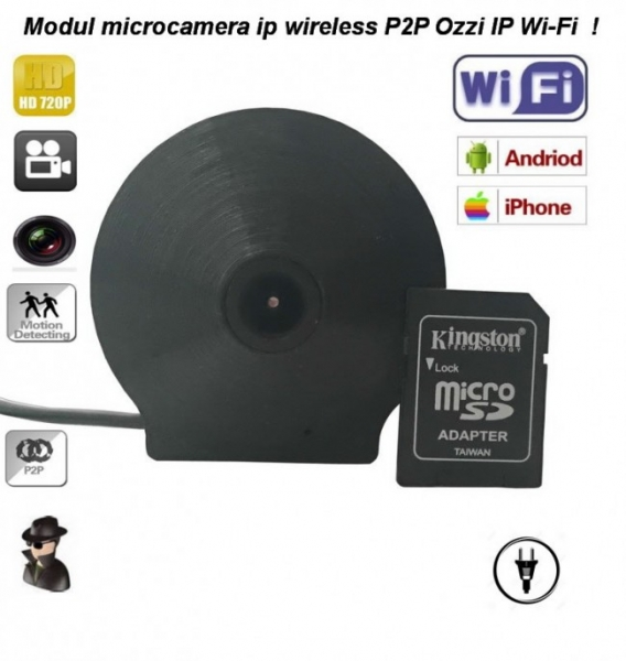 Modul camera Ip wireless