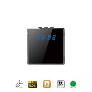 Micro camera video cu nightvision camuflata in ceas de birou DVR cu senzor de miscare, 64GB, 1080p