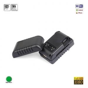 Camera video spion in incarcator, 1920x1080p, wi-fi ip, filmare pe timp de noapte, detector de miscare, 32GB - model INCAMIP1080WI