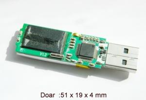 Modul Reportofon Profesional pentru Spionaj  - Stocare 280  de Ore - Model MICROMR280