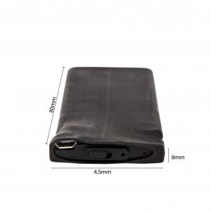 Reportofon Spion cu Activare Vocala, Memorie 8GB, 148 de Ore Stocare, autonomie 18 zile, Model BLACKBOX148AV