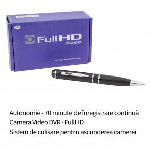 Camera video Spion Full HD 1080p Integrata in Pix Functional Configurabil – Model Profesional
