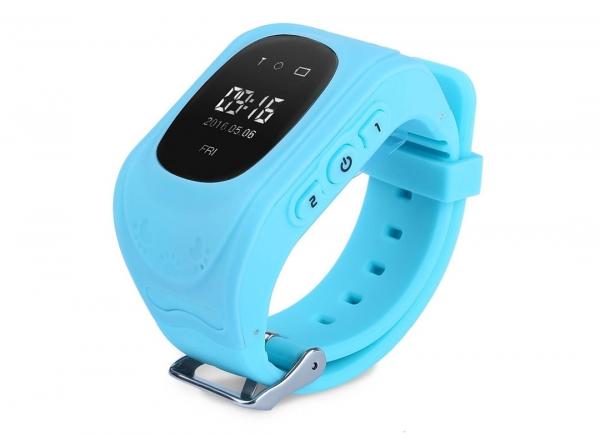 Ceas Albastru Smartwatch cu tracker GPS pentru copii