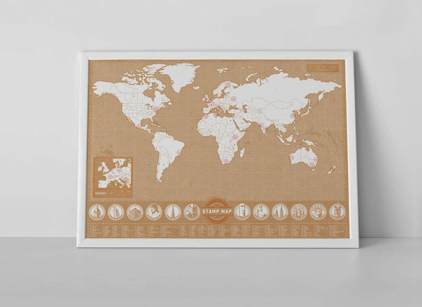 Harta Stamp Map - Originala Luckies 3