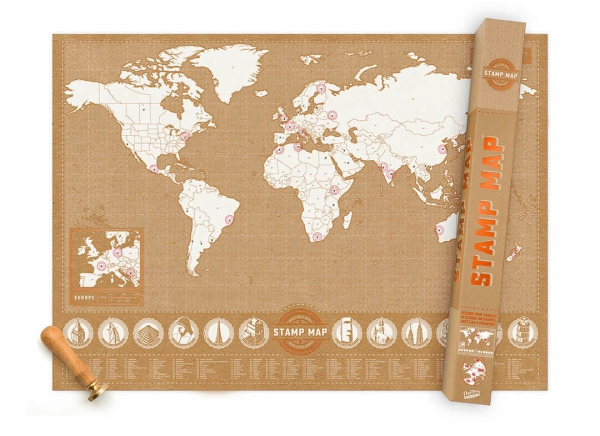 Harta Stamp Map - Originala Luckies 2
