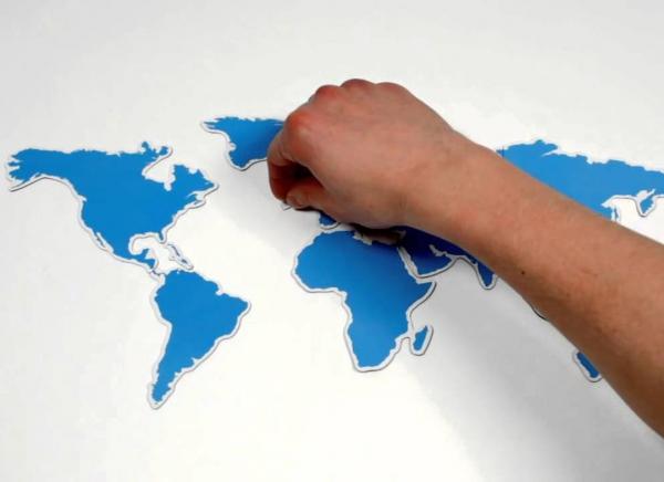 Harta magnetica a lumii