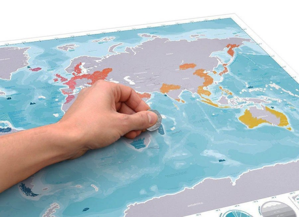 Harta razuibila editia Oceane 3