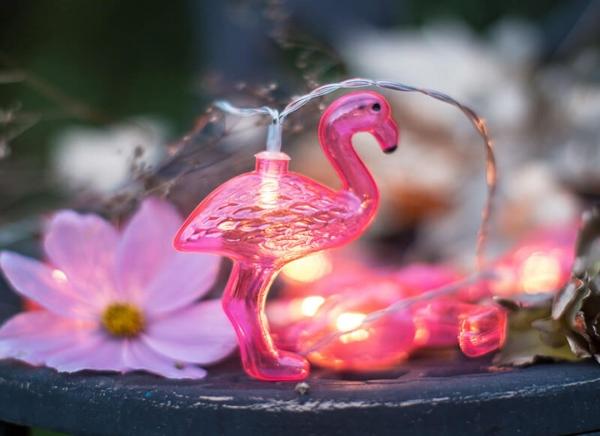 Instalatie de lumini Flamingo Roz 4