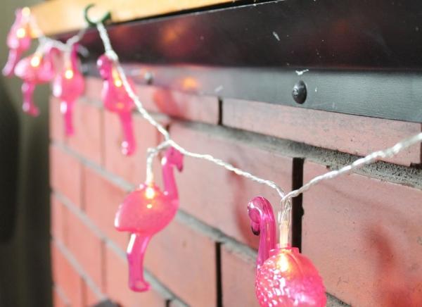 Instalatie de lumini Flamingo Roz 8