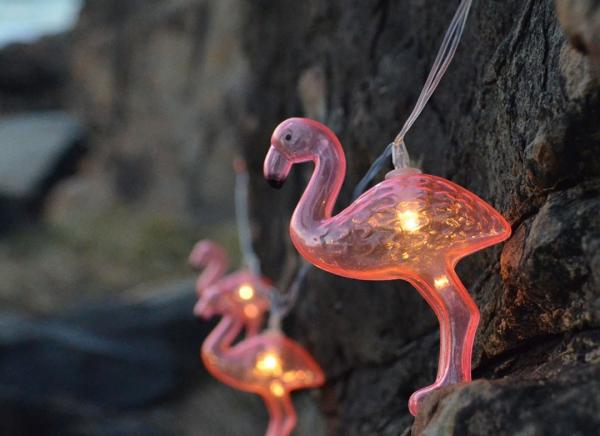 Instalatie de lumini Flamingo Roz 7