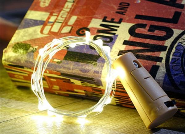 Instalatie de lumini LED Dop de sticla