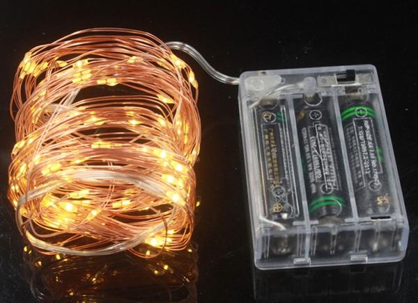 Instalatie de lumini cu 50 leduri 10