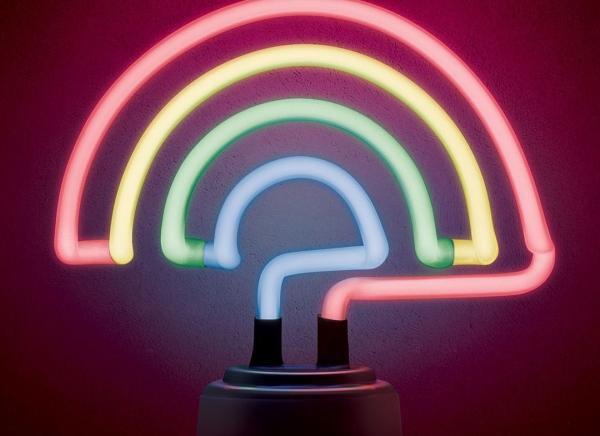 Lampa Neon Curcubeu 8